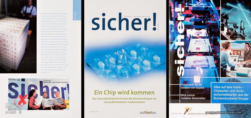 Firmenzeitschrift der Bundesdruckerei Berlin