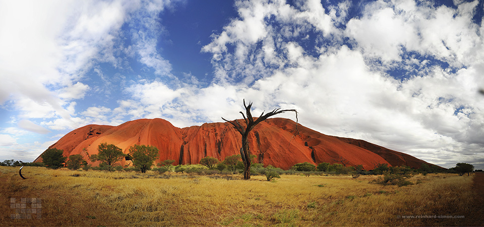 Ayers Rock, Uluru in Australien